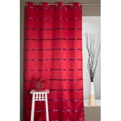 Vorhang Blickdicht mit Streifen Mehrfarbig