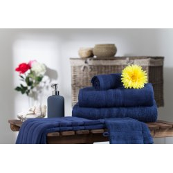 Handtuch aus 100% Baumwolle Nachtblau