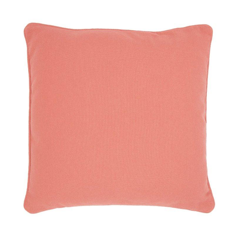 Doux Coton Toile Teint Rectangulaire Taie Oreillers Color/é Decoratif pour Maison Decor Salon Chambre Canap/é Lavable 40 x 40 cm - Jaune Encasa Homes Housses de Coussin Lot de 2 import/é